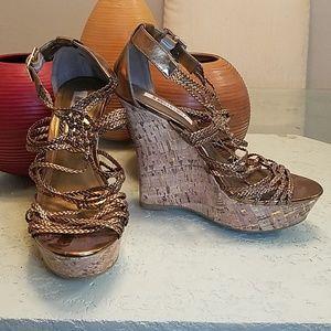 Jennifer Lopez Platform Heels
